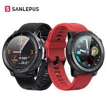 SANLEPUS-reloj inteligente para hombre y mujer, pulsera deportiva resistente al agua IP68, ECG, para Android, Apple, Xiaomi y Huawei, 2021