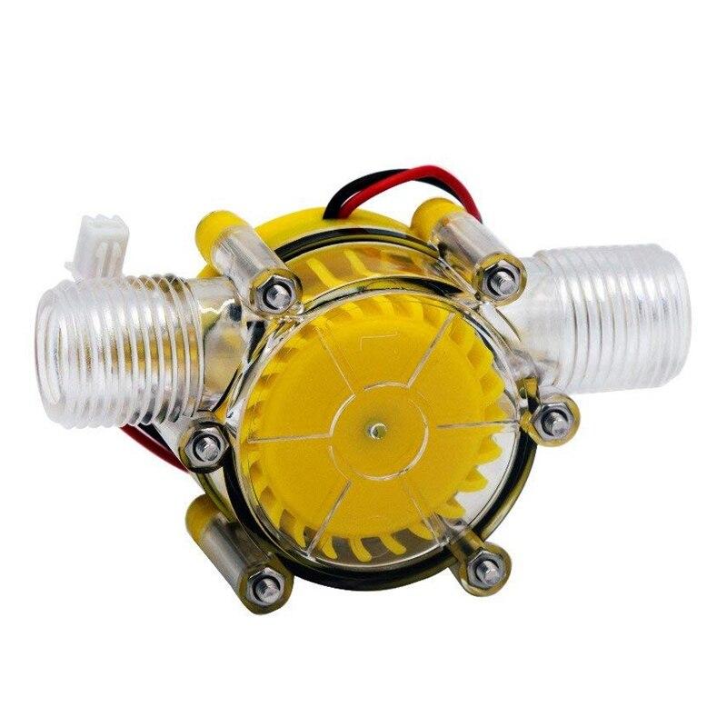 10 Вт расход воды насос мини гидро генератор турбины потока гидравлический Конвертация 12В