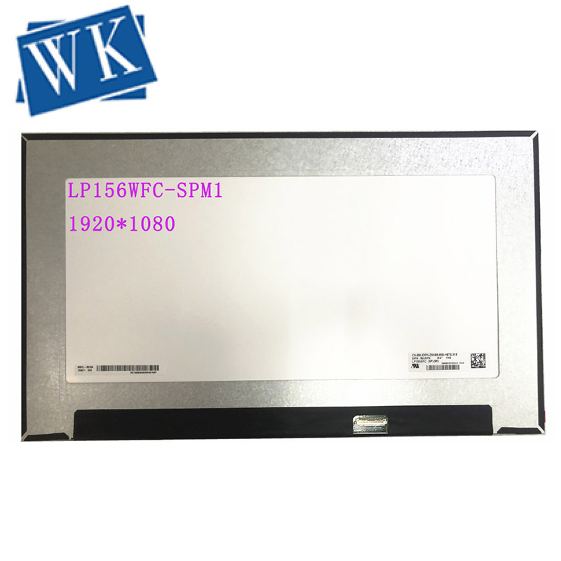 LP156WFC-SPM1 LP156WFC SPM1 LP156WFC (SP)(M1) LCD Screen Laptop Display Matrix replacement IPS FHD 1920*1080 30Pins
