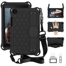 Чехол для Samsung Galaxy Tab A 8,0, 2019, чехол для планшета с нетоксичными материалами, с полным покрытием, для детей, с подставкой, чехол-накладка, чехол ...