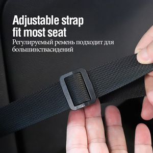 Image 3 - DONQL Fishing Rod Holder For Car Backseat Portable Fishing Pole Tie Straps Rack Universal Bracket Fishing Tackle Tool