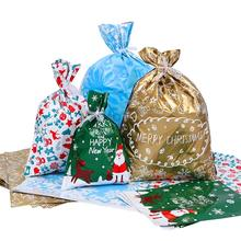 30pcs/Pack Christmas Gift Bags Portable Assorted Styles Gift Wrapping Christmas
