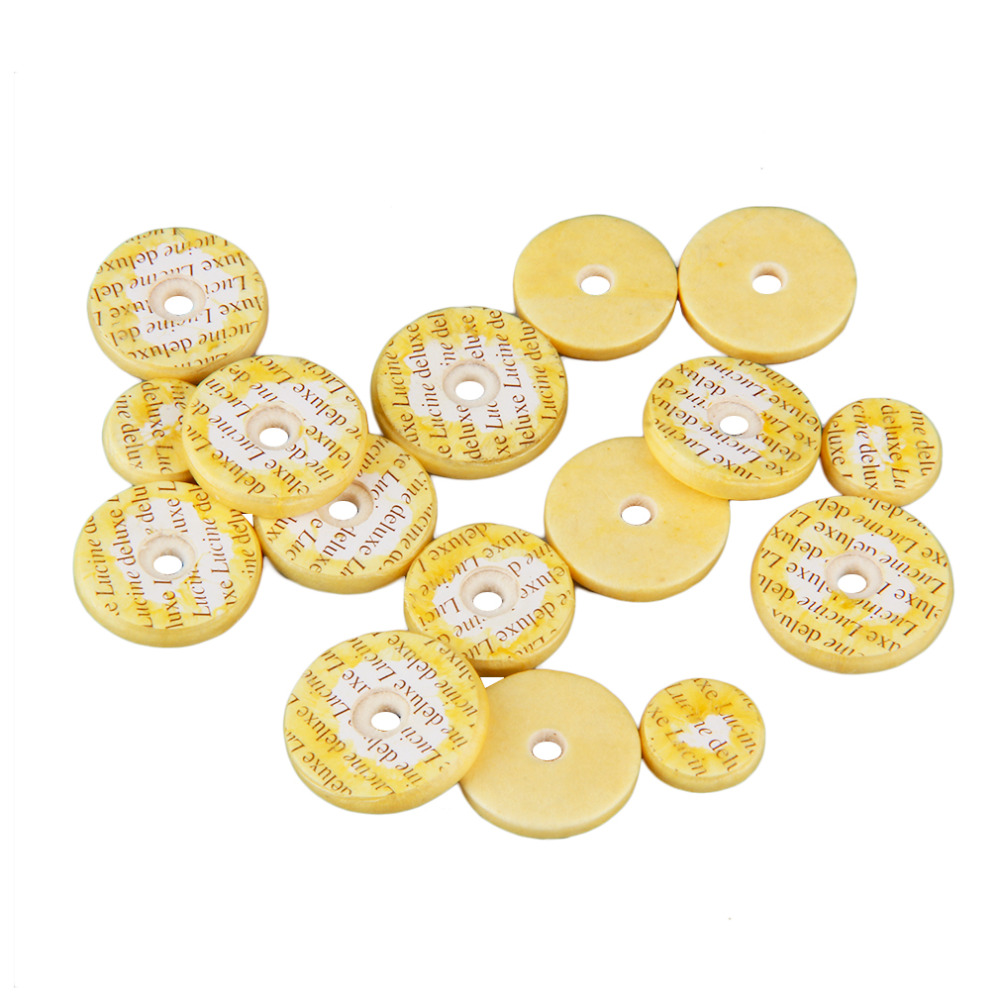 Professional Yellow Flute Pads 16 Open Hole Standard Size Pads Casings Mat Sound Hole Pad Instrument Repair Parts