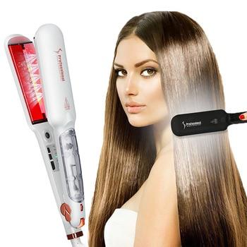 Professional Steam Hair Straightener Infrared Heating  1