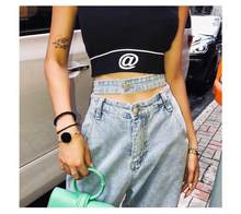 2020 new high waist jeans women retro Wide Leg Jeans Jeans Jeans big boyfriend mom jeans jeans Street distressed jeans jeans