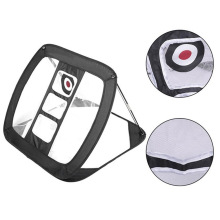 Foldable Golf Trainer Pop Up Chipping Net Golfing Target Accessories Backyard Practice Swing Game
