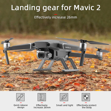 Quick Release Height Extender Protector Guard Landing Gear for DJI Mavic 2 Pro Zoom Accessries Flight Landing Protection Frame