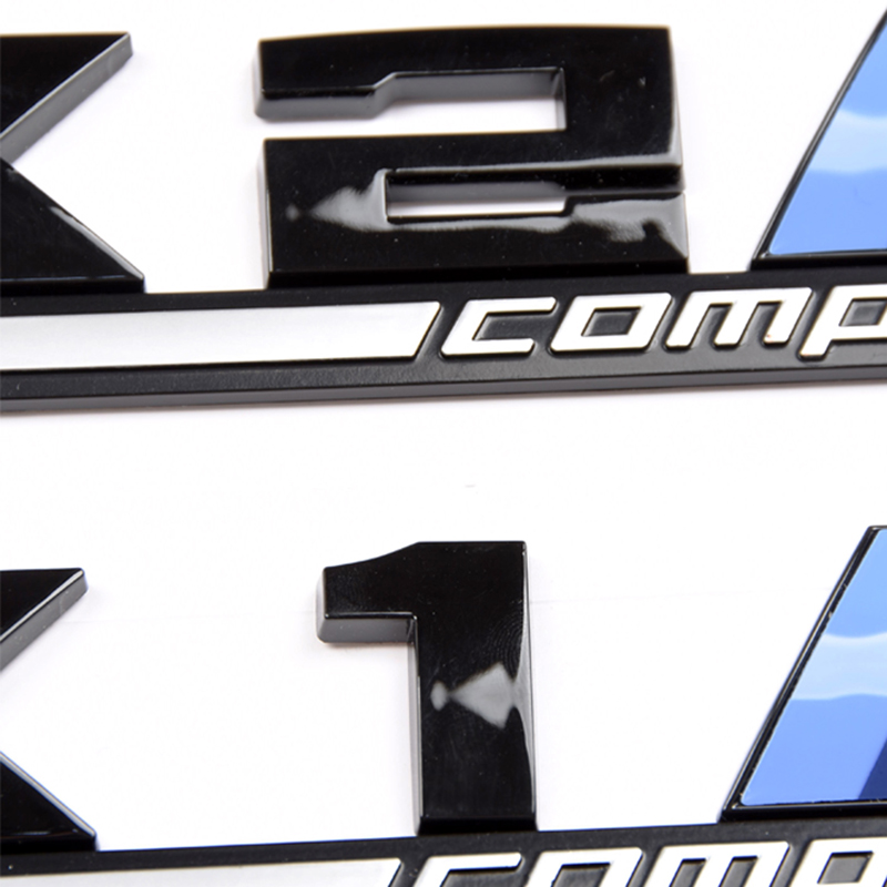 1pcs 3D ABS M Competition Stickers Car Styling For BMW X1 X2 X3 X4 X5 X6 M1 M2 M3 M4 M5 M6 E36 E39 E46 Emblem Badge Accessories