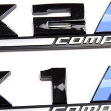 1pcs 3D ABS M Competição Styling Adesivos de Carro Para BMW X1 X2 X3 X4 X5 X6 M1 M2 M3 M4 M5 M6 E36 E39 E46 Emblema Crachá Acessórios