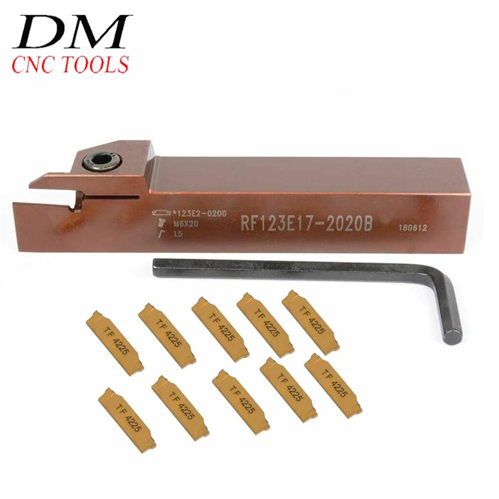 RF123E17-2020B 20mm Grooving cut-off holder Cutting tool for Sandvik N123E2-0200