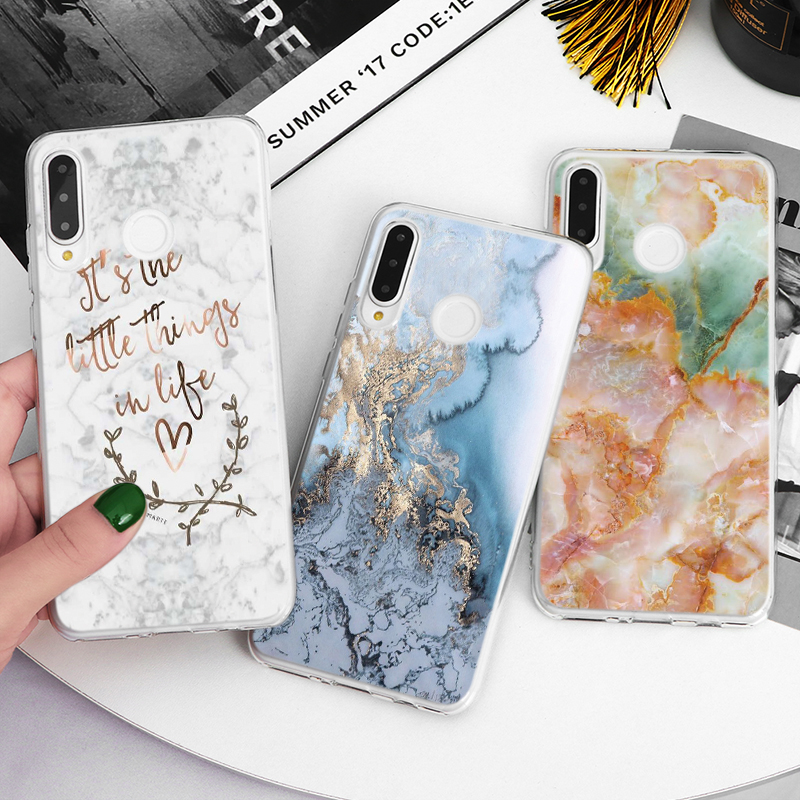 Soft Case For <font><b>Huawei</b></font> Y9 Y7 Prime <font><b>Y6</b></font> Pro 2018 Y5 II 2 <font><b>2019</b></font> Y3 2017 Case For <font><b>Huawei</b></font> Honor View 10 20 Pro 10i Play 8A 3 20i 9X Pro image