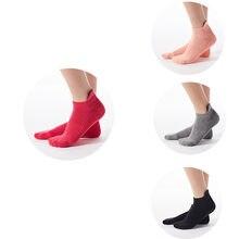 2021 Offre Spéciale hiver femmes Socsk antidérapant Yoga chaussettes pour les femmes anti-dérapant Barre Fitness chaussettes avec poignées pour les femmes #30
