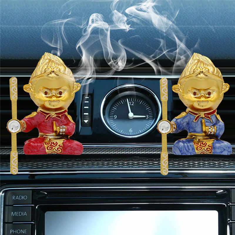 カーアクセサリー空気清浄サプリメントミニ固体香水の自動車臭い香味エアコンベントアウトレットインテリアカーディフューザー