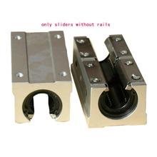 SBR extended open box type linear bearing unit slider SBR10/12/16/20/25/30/35/40/50-L-UU