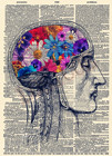 Brain Flowers Poster...