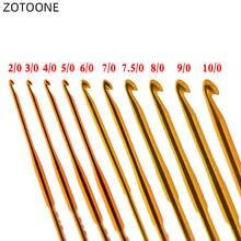 Zotoone 10 размеров/комплект глиноземный золотистый 135 см крючок