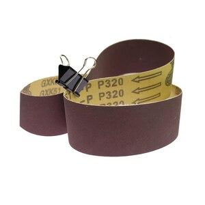 Image 2 - 10 pezzi 915*50 millimetri Abrasiva Nastri Abrasivi per Legno Metallo Morbido Per La Frantumazione di Lucidatura