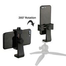 2020 neue Universal Telefon Stativ Mount Adapter Handy Clipper Stand Vertikale 360 Grad Einstellbare Halter