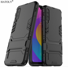 HATOLY For Armor Case Xiaomi Mi A3 Cases Shockproof Robot Silicone Rubber Hard Back Phone Cover 6.01