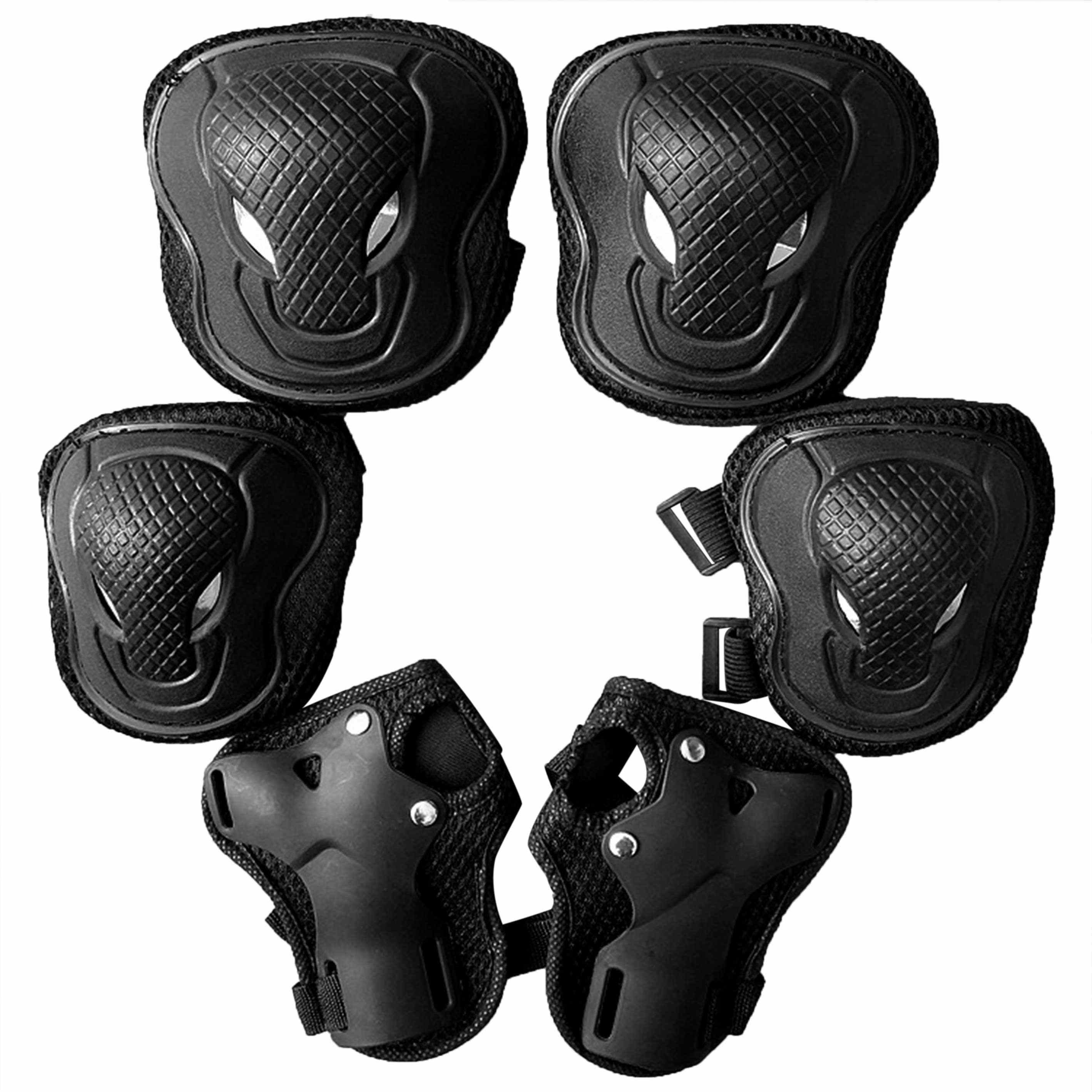 Elbow Wrist Knee Pads Sport Safety Protective Gear Guard for Motorcycle Skate