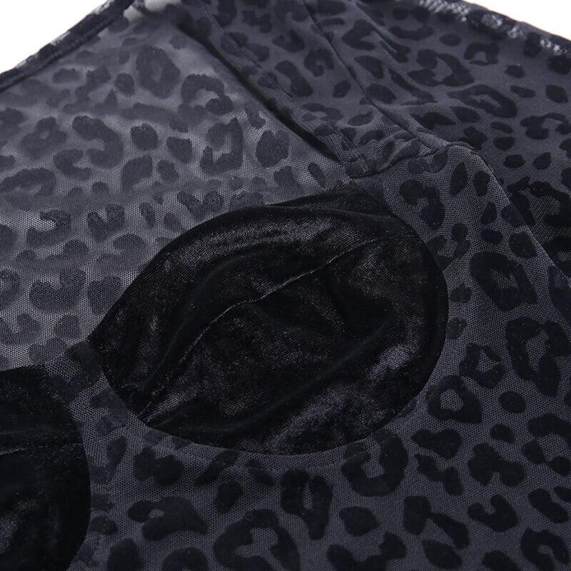 mesh leopard bodysuit08