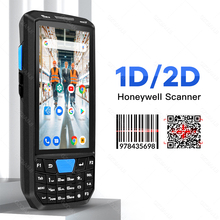 PDA Reader Rugged Data-Collector Qr Scanner Mobile-Phone Laser Barcode 1d Handheld Android-8.1