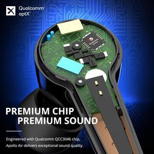 наушники беспроводной Tronsmart Apollo Air Bluetooth 5.2, TWS+ наушники с активным шумоподавлением и aptX, QualcommChip,6 mics|Наушники и гарнитуры|   | АлиЭкспресс
