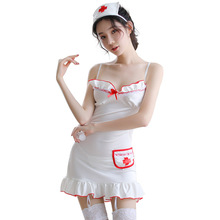 Sexy lingerie role playing temptation nurse uniform doctor costume women erotic underwear white sexy sex ligerie
