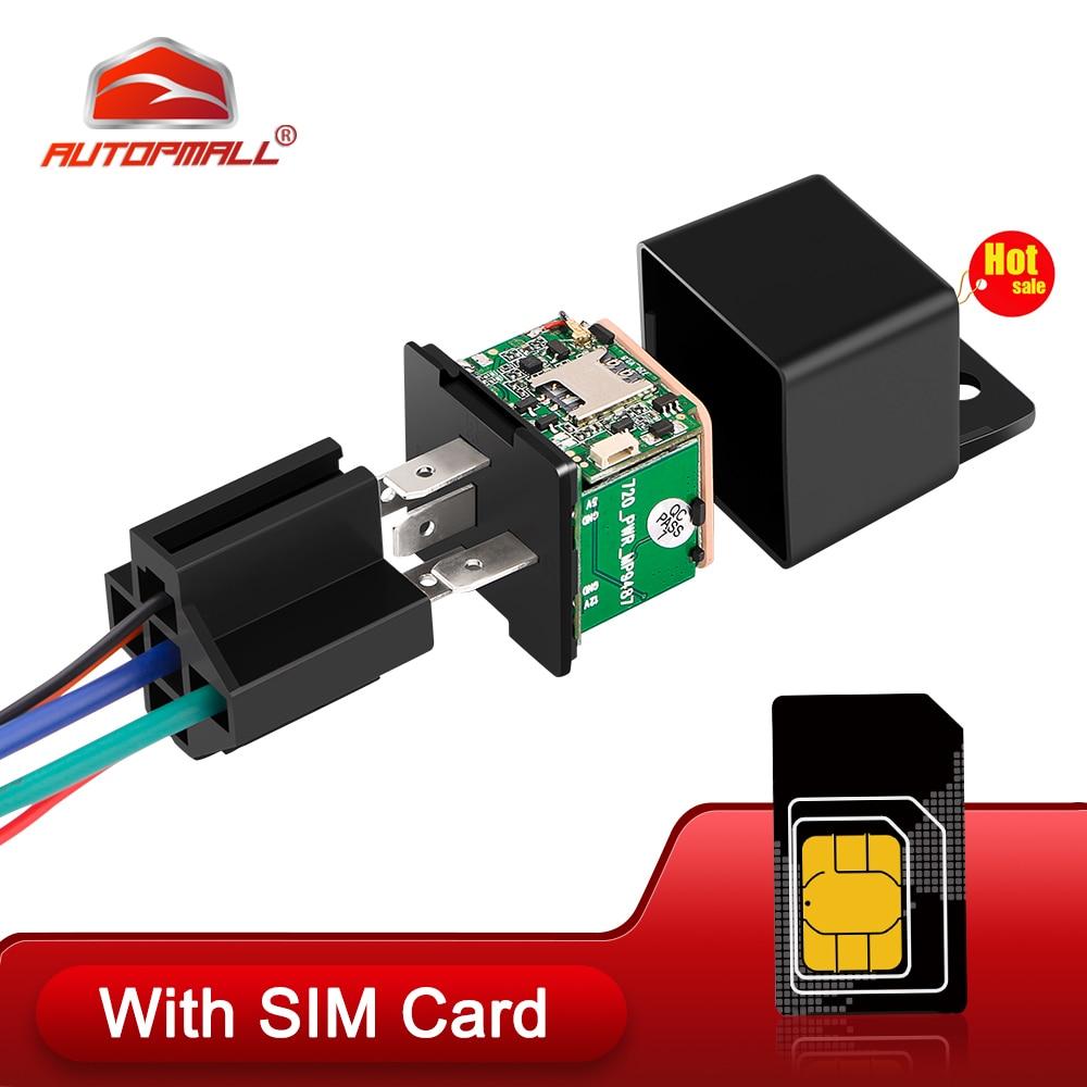 MV730 GPS Tracker Car Tracker GPS Relay Tracker Realtime Cut Off Fuel ACC Locator Vibration Overspeed Alert 720 Upgrade Free App