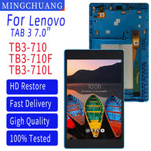 LCD Display Touch Screen Digitizer For Lenovo Tab 3 7.0 710 l Tab3 TB3-710 TB3-710F TB3-710L TB3-710I Assembly