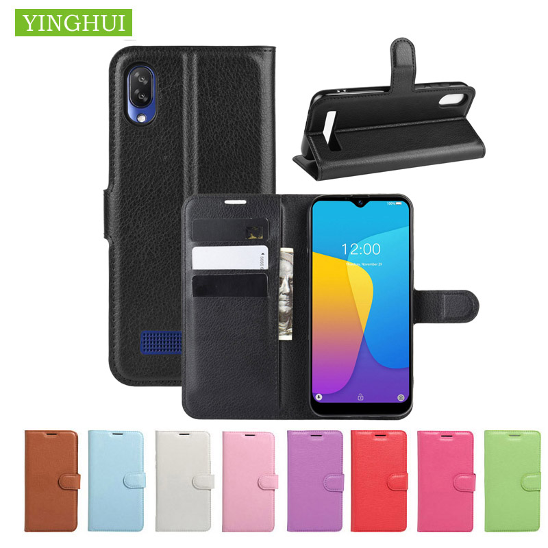 Fashion Litchi Texture Leather Case For Doogee Y8 cover Flip Magnetic Cover Case Wallet Stand Style For Doogee Y8C phone case image