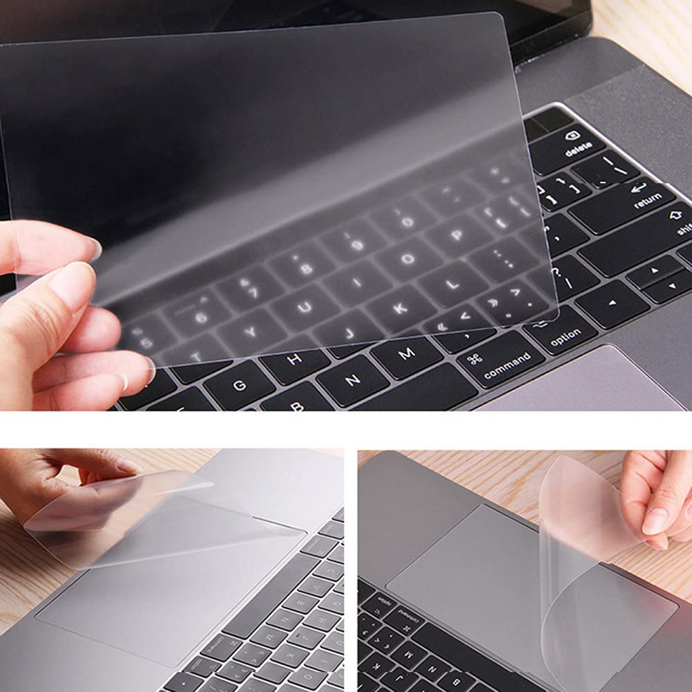 Прозрачный защитный чехол-накладка для Macbook Air Pro Retina 11,6 12 13,3 15,4 16 inch 2009-2020 Touch Pad Skin