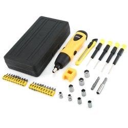 X power 6V bezprzewodowy wkrętak elektryczny zestaw wierteł zestaw gospodarstwa domowego DIY śruba sterownik mocy rękaw zestaw narzędzi w Wkrętaki elektryczne od Narzędzia na