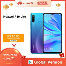Global version Huawei P30 Lite 4GB 128GB 6.15 Smartphone Global Version inch Kir