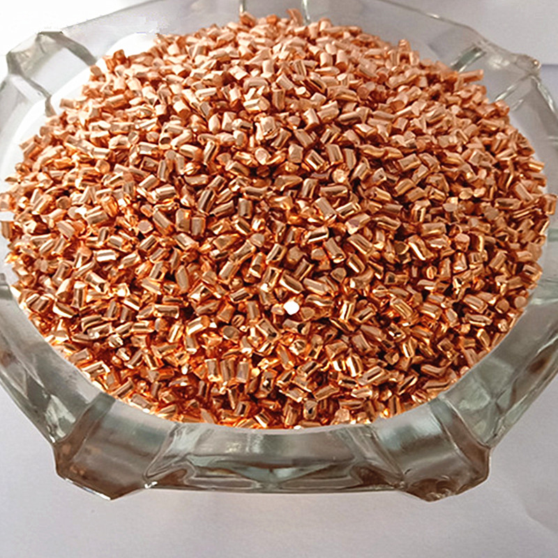 Pure Copper Grain High Purity Cu 99.99% For Collection Copper Particles Simple Element 4N