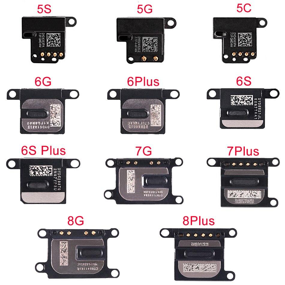 2pcs/lot Earpiece Ear Speaker Sound Receiver Flex Cable For IPhone 5 5S SE 5C 6 6S 7 8 Plus Replacement Repair Parts