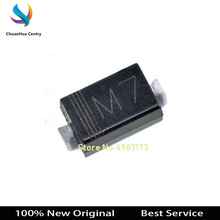 цены 100 pcs/lot DIODE M7 1N4007 SMD Rectifier Diode New and Original In Stock