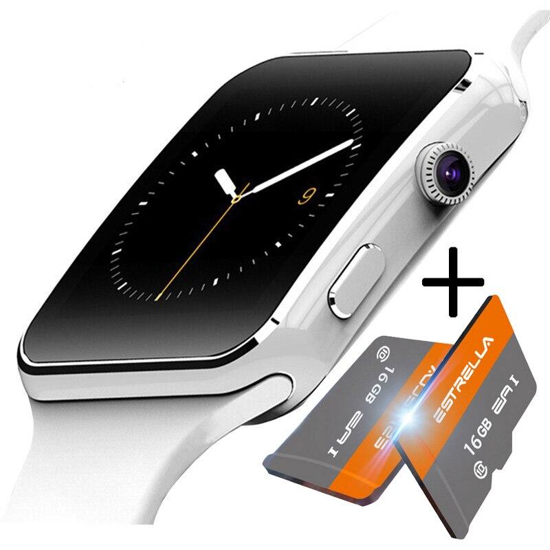 Smart Uhr Bluetooth Sport Passometer Smartwatch Mit Kamera Unterstützung SIM TF Karte Whatsapp Facebook die männer uhren reloj