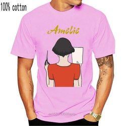 Amelie V2 Movie Poster 2001 T Shirt White Zink All Sizes S 4Xl