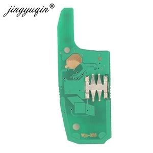 Image 5 - Jingyuqin 5 adet modifiye 2 düğme uzaktan akıllı anahtar Fob için Chevrolet Cruze 2014 2018 433 MHZ ID46 PCF7941 çip anahtar kontrol