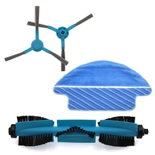 Sweeping Robot Vacuum Cleaner Accessories for Conga 3090 Sweeper Accessories Side Brush Roller Brush Main Brush Mop