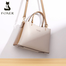 Winter Bag Lady Handbag FOXER Women Tote Messenger-Bag Work-Purse Crossbody-Shoulder