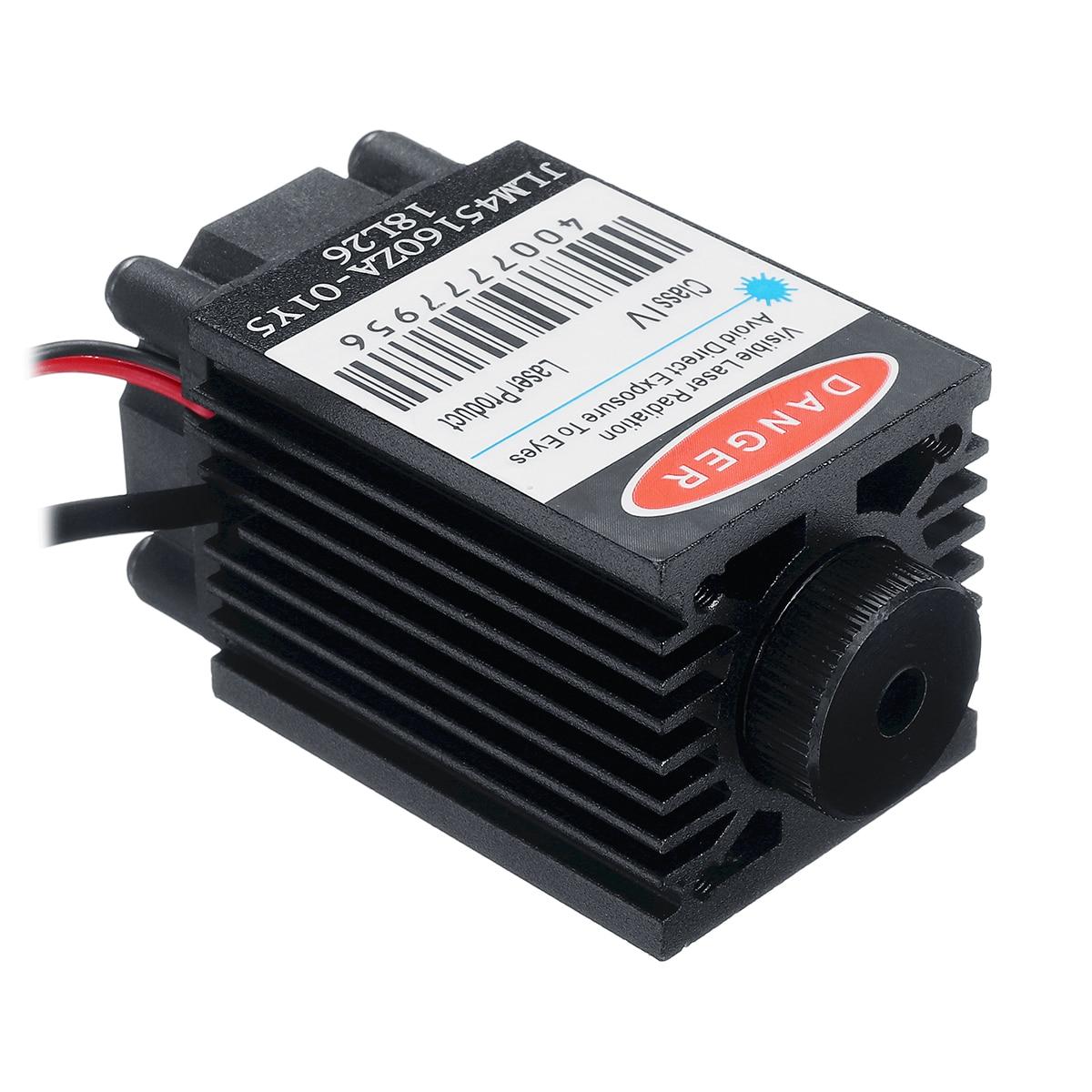 2,5 W 450nm синий лазерный модуль TTL 12V фокусируемая высокая мощность + очки для режущий лазер cnc гравировальный станок детали для деревообработк...