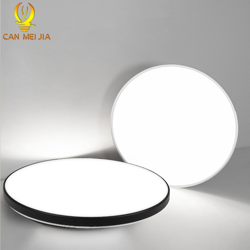 Led Ceiling Lights 220V Modern Ceiling Lamp 12W 24W 20W 50W Ultra Thin Panel Lighting Fixture for Living Room Bedroom Kitchen