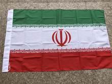 Irã bandeira nação 3ft x 5ft poliéster bandeira flying150 * 90cm bandeira feita sob encomenda em todo o mundo ao ar livre
