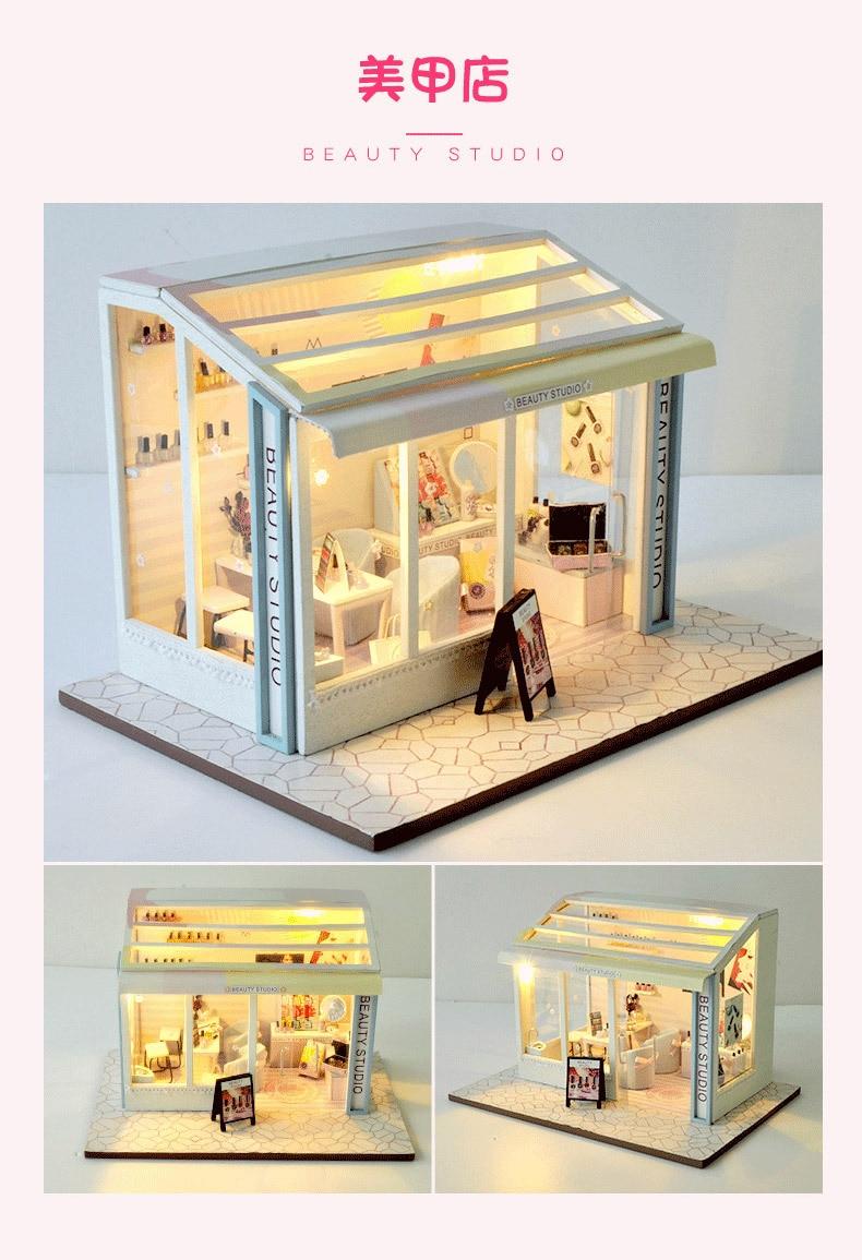 Hdd4719bfebbc4b93979770b7f8d9904dv - Robotime - DIY Models, DIY Miniature Houses, 3d Wooden Puzzle