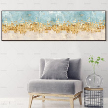 Abstract posters wall art Painting art home decor landscape canvas art no frame picture canvas print painting canvas wall decor art picture canvas print painting abstract pattern blue yellow for living room home decor no frame