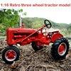 Oferta specjalna 1:16 Retro trzykołowy model ciągnika symulacja stopu model pojazdu rolniczego