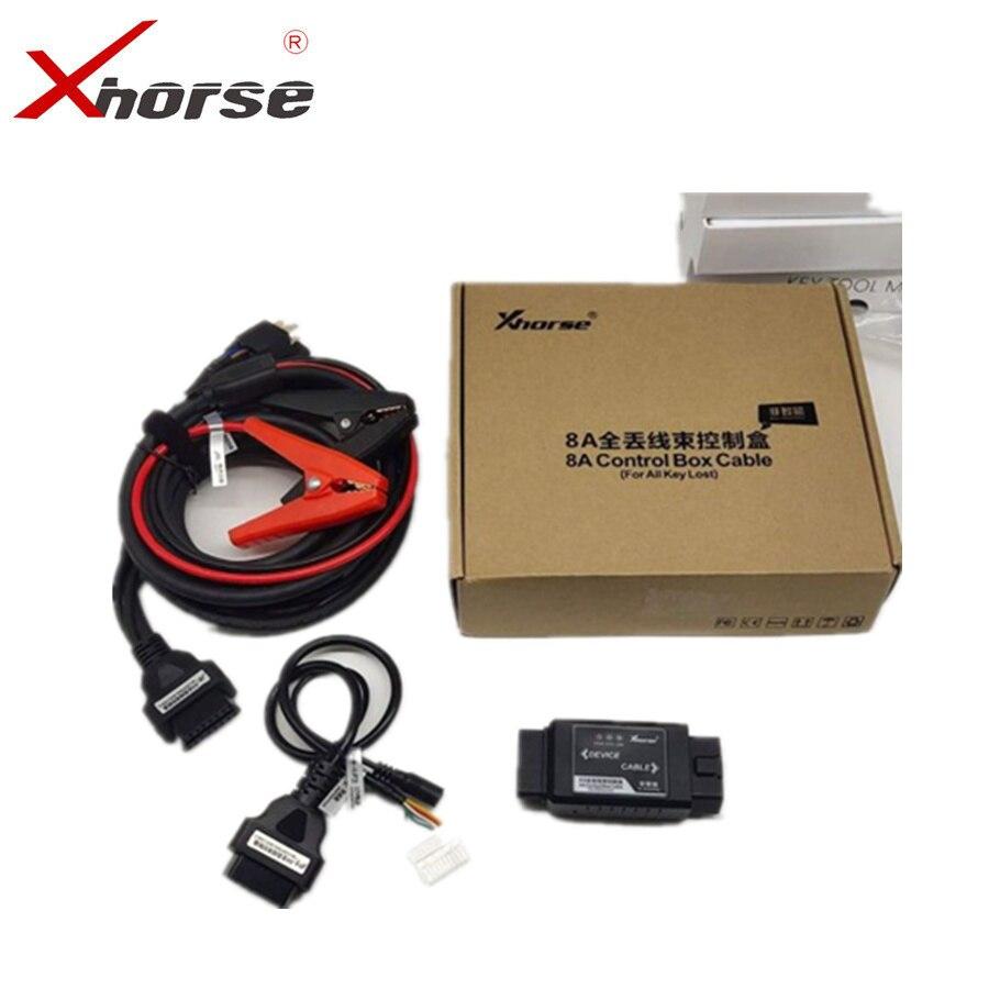 XHORSE 8A неумный ключ адаптер для Toyota 8A блок управления кабель Поддержка всех ключей без разборки иммобилайзер коробка        АлиЭкспресс