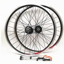 Novatec 20 Cal 406 rower składany rower uszczelnione łożysko piasty hamulca V pełna czerń zestaw do kół koła 451 100/130